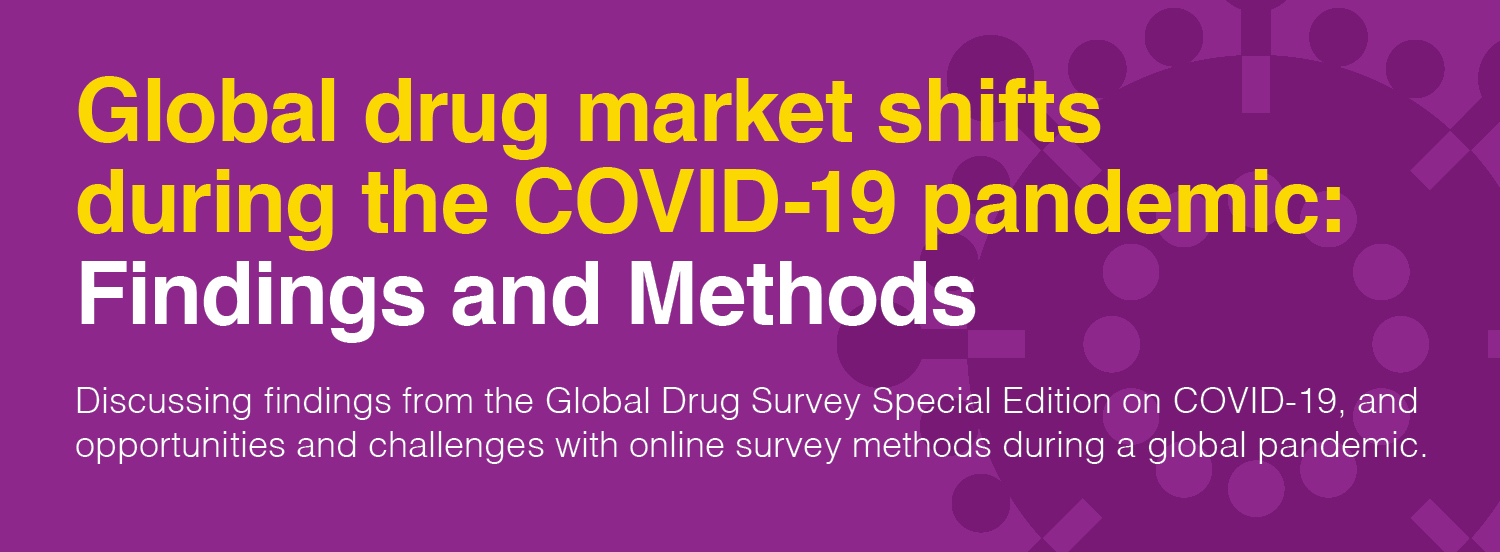 Upcoming webinar on COVID-19 and drug use